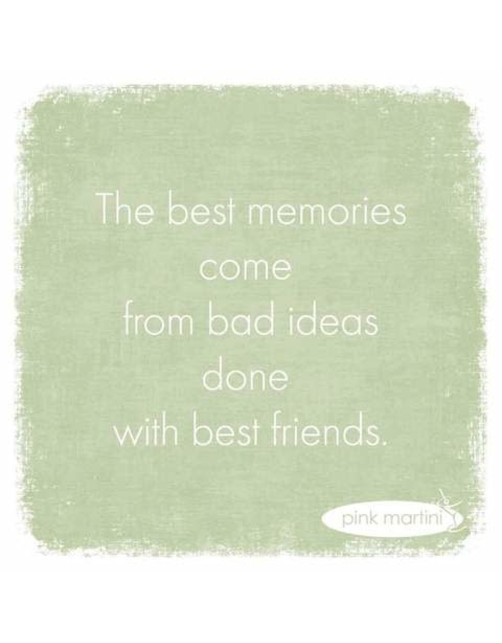 Paper Products Designs THE BEST MEMORIES BEVERAGE NAPKIN