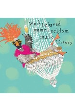Paper Products Designs WELL BEHAVED WOMEN BEVERAGE NAPKIN