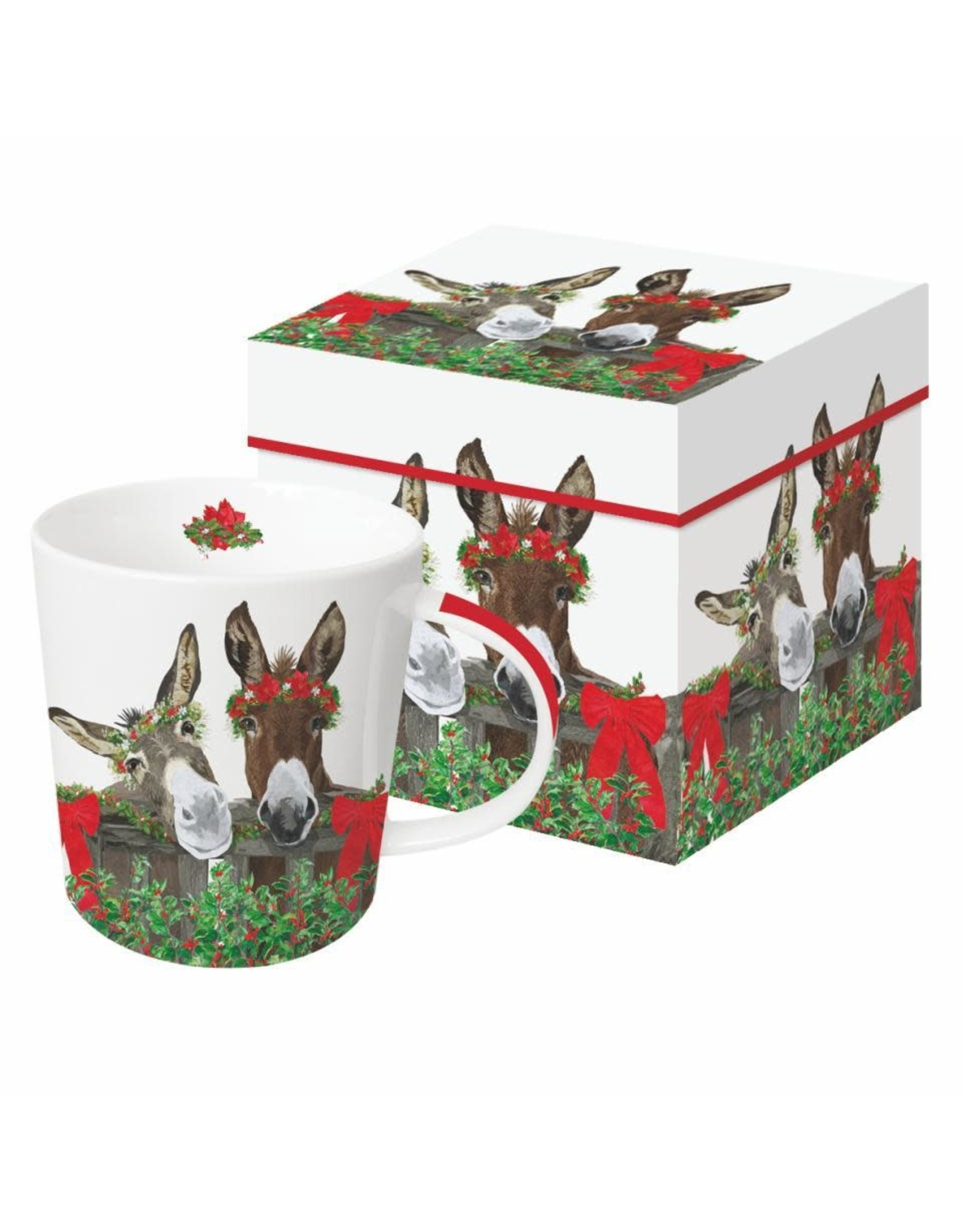 Paper Products Designs PEANUT BUTTER & JELLY HOLIDAY MUG IN A GIFT BOX