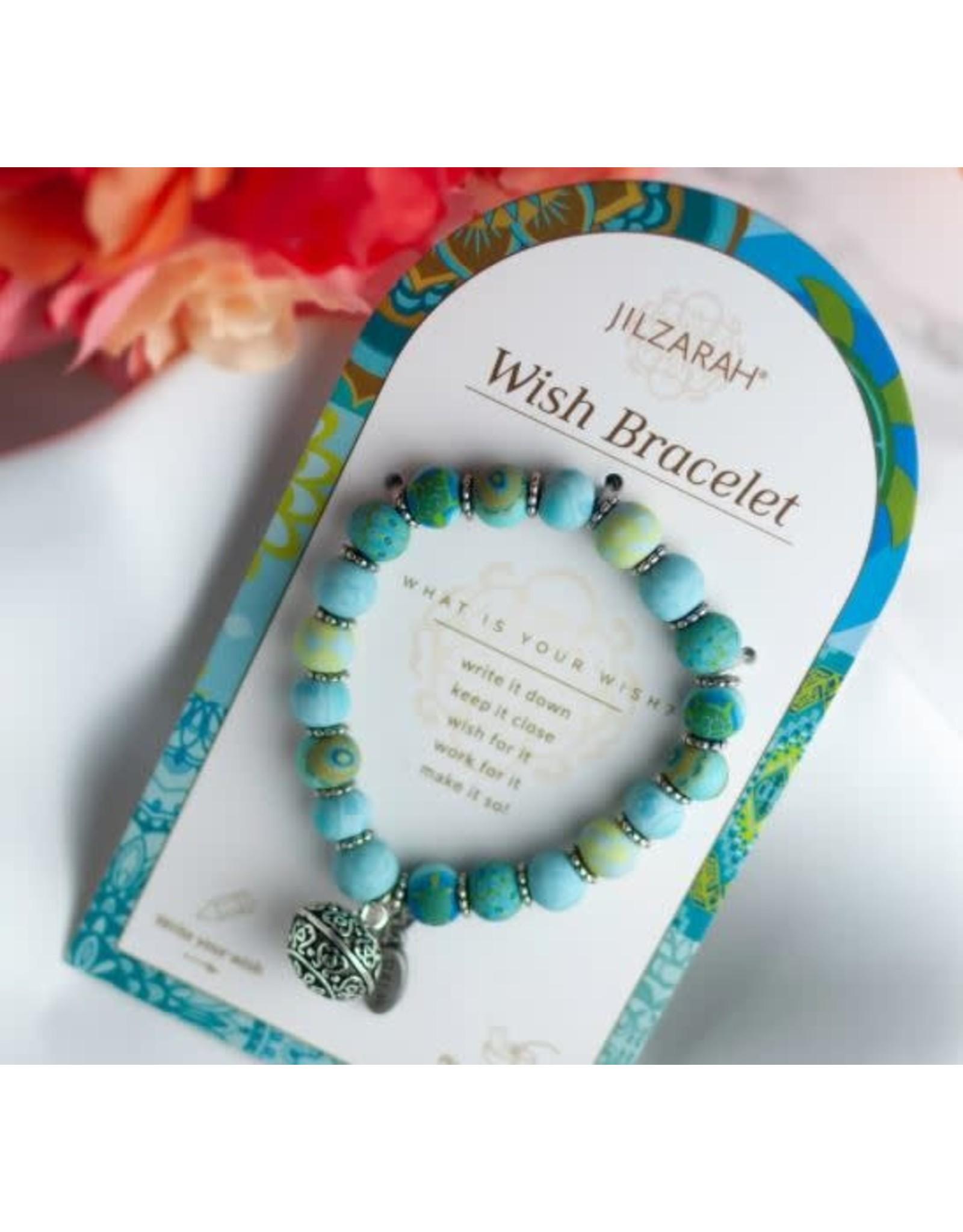 Jilzarah WISH BRACELET BLUE