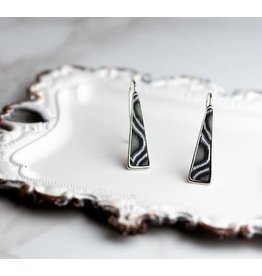 Jilzarah TRIANGLE DROP EARRING