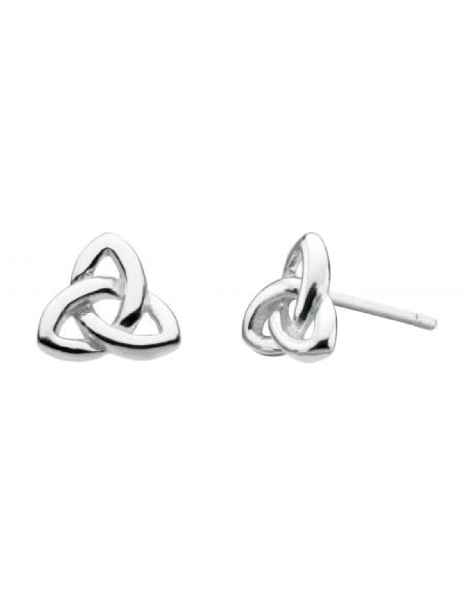 Kit Heath TRINITY KNOT STUD EARRING