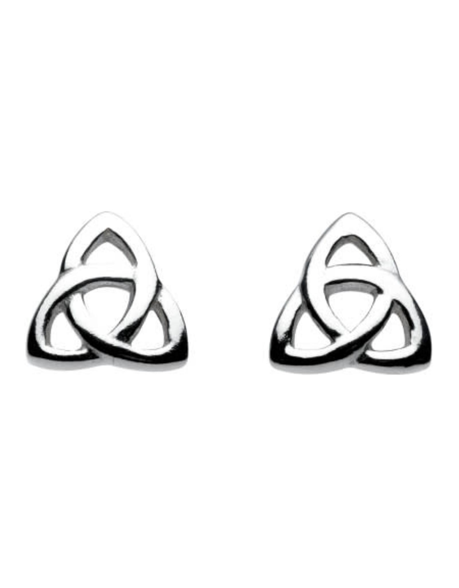 Kit Heath CELTIC TRINITY KNOT STUD EARRING