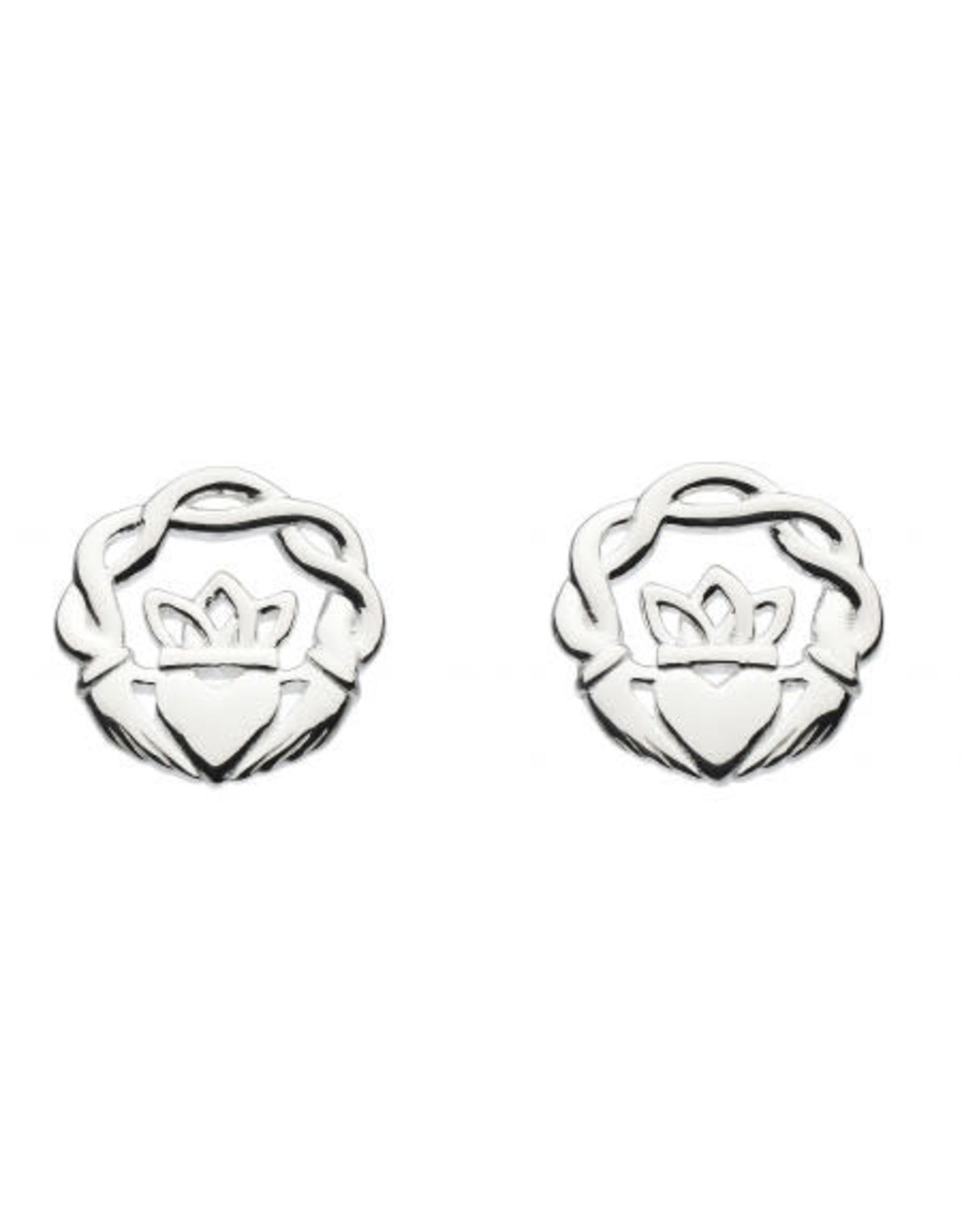 Kit Heath MELVINA CLADDAGH STUD EARRING