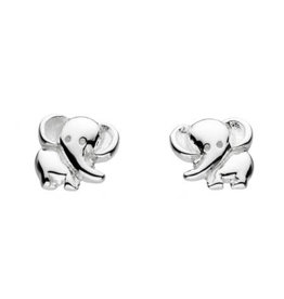 Kit Heath ELEPHANT STUD EARRING