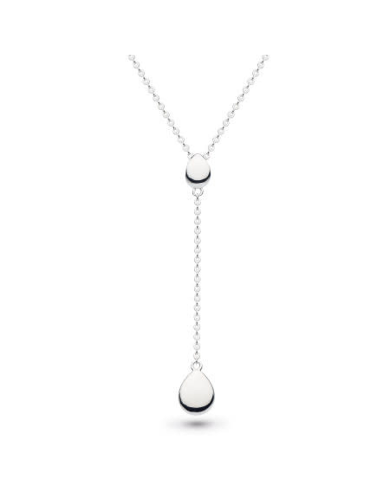 Kit Heath COAST PEBBLE CHAIN LARIAT NECKLACE