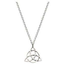 Kit Heath CELTIC TRIANGLE KNOT NECKLACE