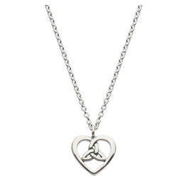 Kit Heath OPEN HEART KNOT NECKLACE 18""