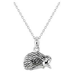 Kit Heath HEDGEHOG OXIDISED NECKLACE