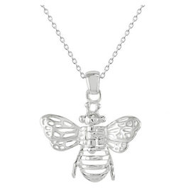 Kit Heath BEE MOVEABLE WINGS NECKLACE
