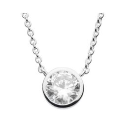 Kit Heath ROUND CUBIC ZIRCONIA NECKLACE