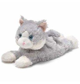 Intelex USA / Warmies GRAY CAT LAYING DOWN WARMIE