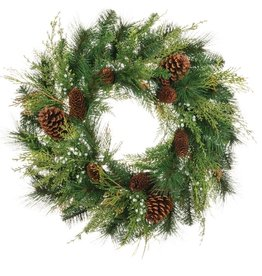 Sullivans MIXED PINE WREATH 24""
