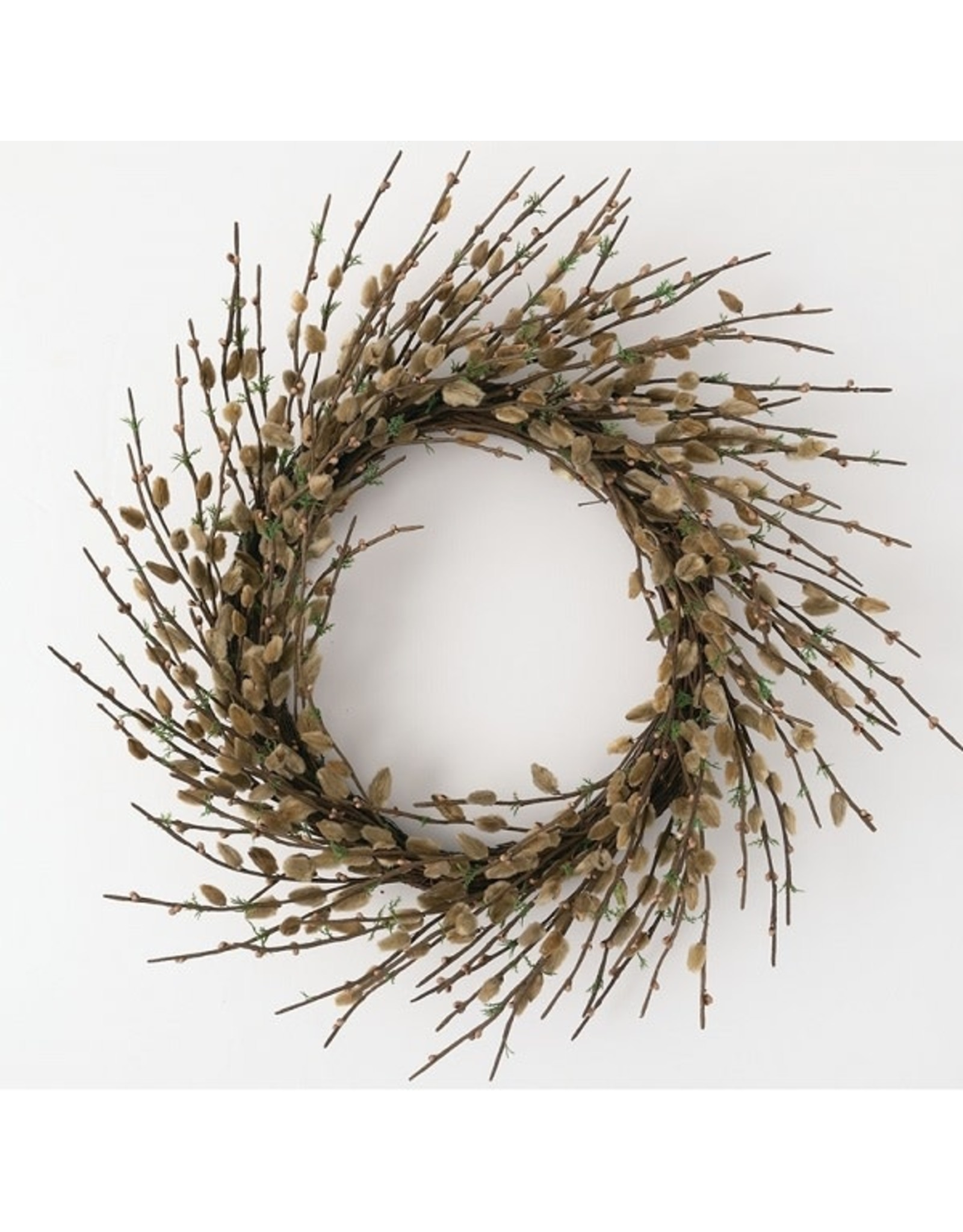 Sullivans PUSSYWILLOW WREATH 24""