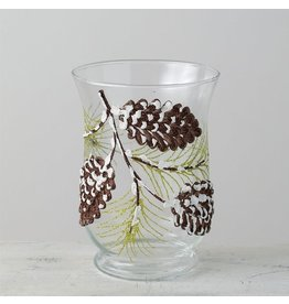 Sullivans PINECONES CANDLE HOLDER
