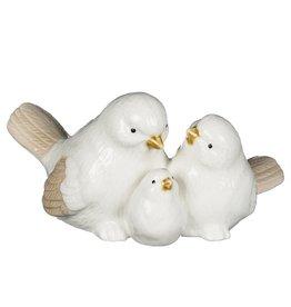 Sullivans PORCELIAN BIRD FAMILY