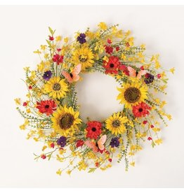 Sullivans WILDFLOWER MIX WREATH