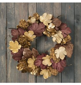 Sullivans GOLDS FIG LEAF WREATH 29""