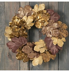 Sullivans GOLDS FIG LEAF WREATH 23""