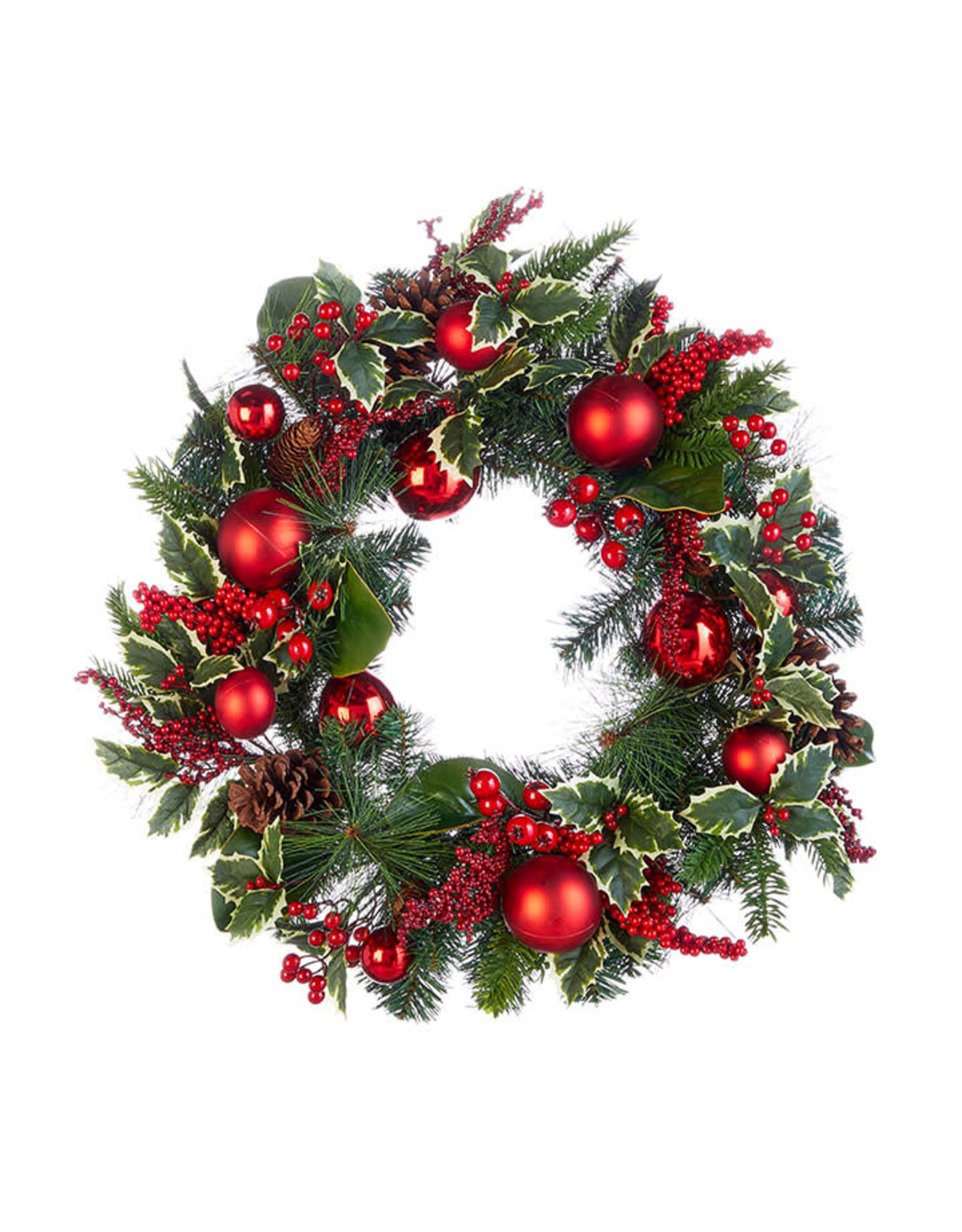 "Raz Imports CHRISTMAS EVE 26"" WREATH"