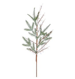 Raz Imports PINE CRYSTAL JEWELS SPRAY 32""