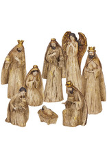 Raz Imports WINTER BOTANICALS NATIVITY