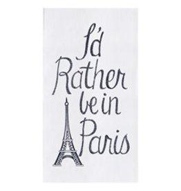C and F Enterprises PARIS KITCHEN TOWEL