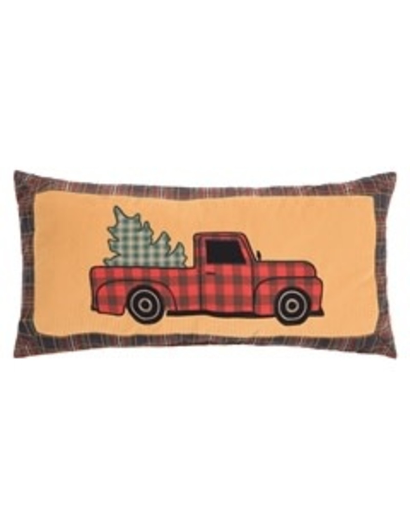 C and F Enterprises WILD WOOD TRUCK PILLOW