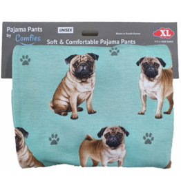 E and S PUG PAJAMA BOTTOMS
