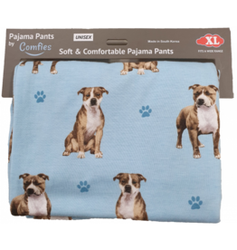 E and S PIT BULL  PAJAMA BOTTOMS