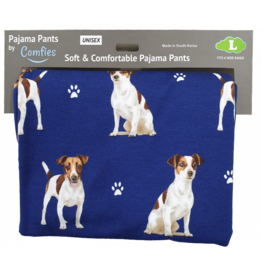 E and S JACK RUSSELL PAJAMA BOTTOMS
