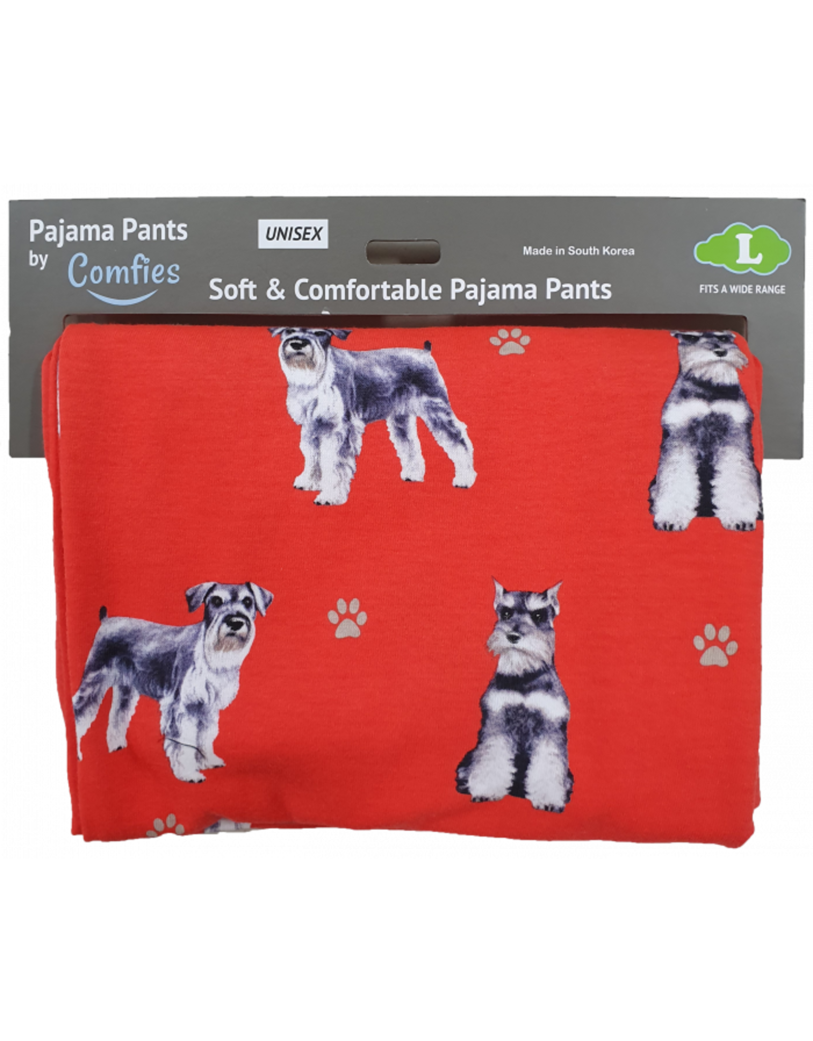 E and S SCHNAUZERS PAJAMA BOTTOMS