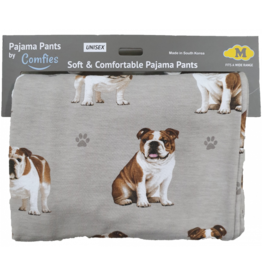 E and S BULLDOG PAJAMA BOTTOMS