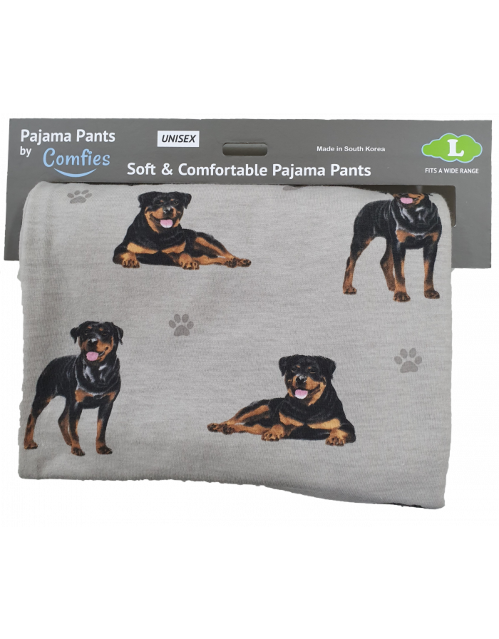 E and S ROTTWEILER PAJAMA BOTTOMS