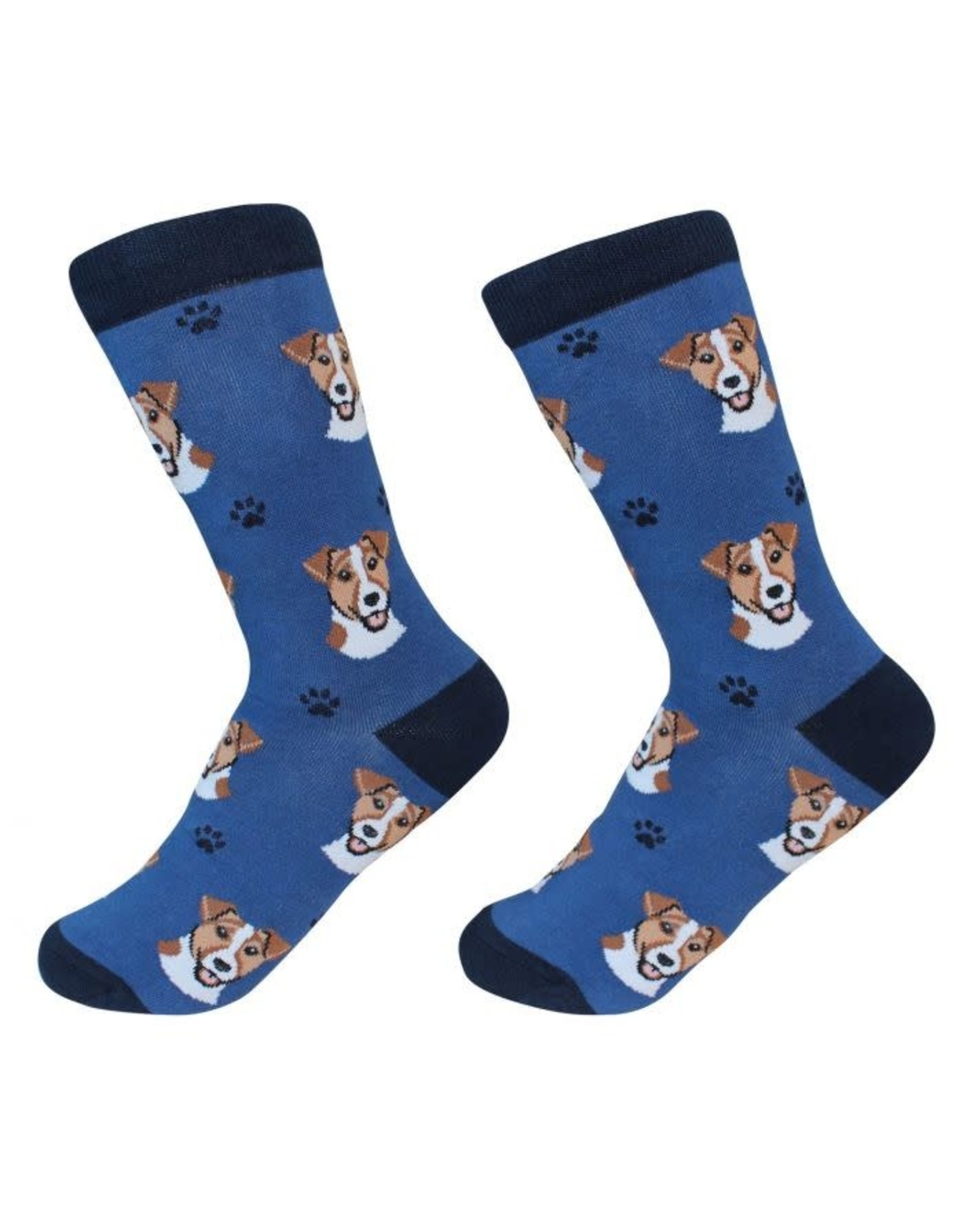 E and S JACK RUSSELL SOCKS