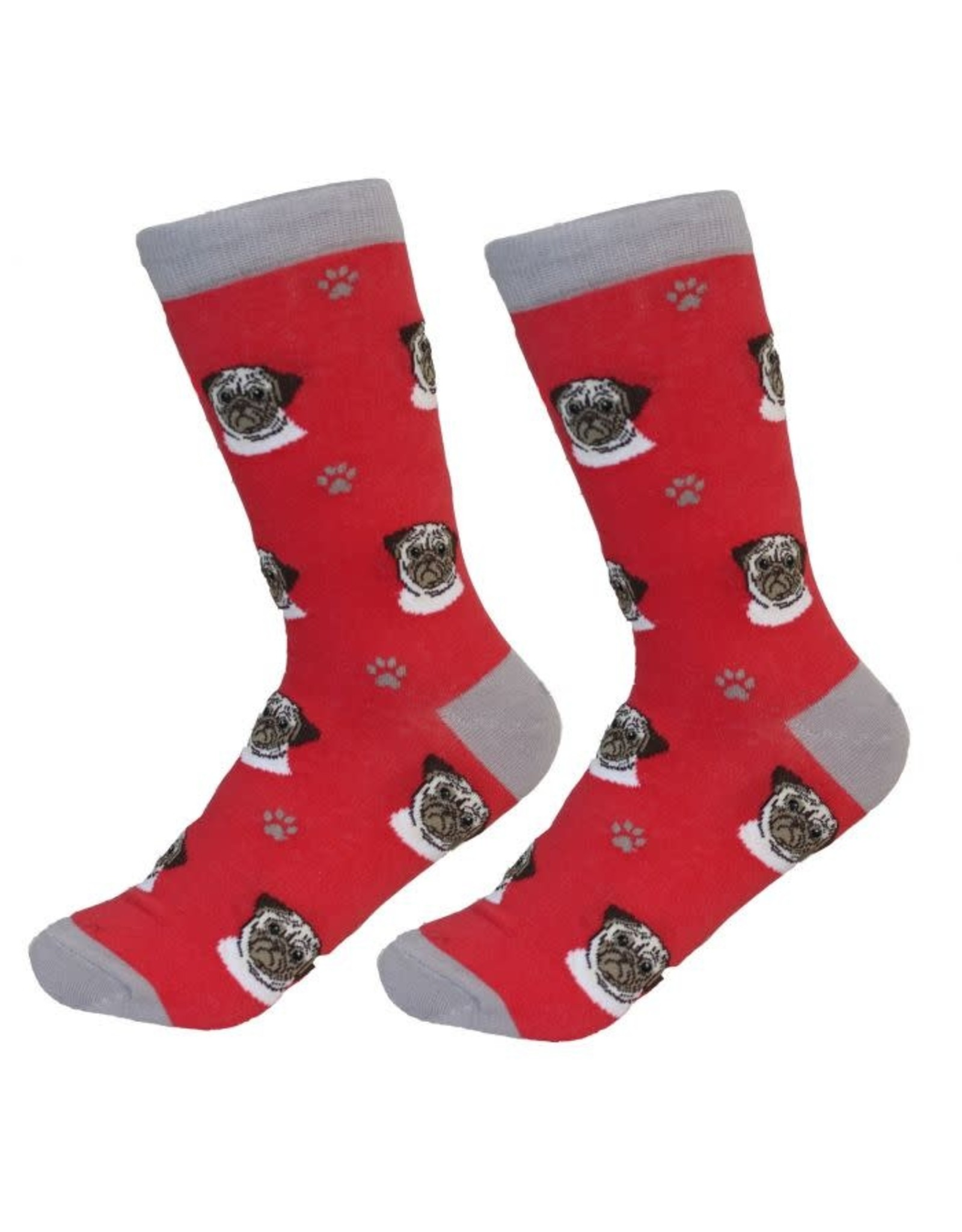 E and S PUG SOCKS