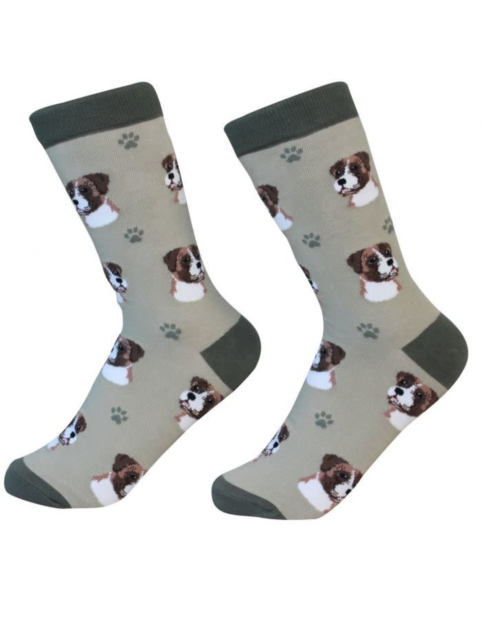 E and S BOXER UNCROPPED SOCKS