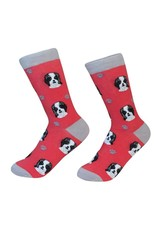 E and S SHIH TZU BLACK SOCKS