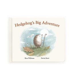 JellyCat HEDGEHOG'S BIG ADVENTURE BOOK