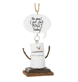 Ganz CAN'T ADULT SMORE ORNAMENT