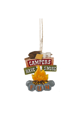Ganz CAMPERS HAVE SMORE FUN ORNAMENT