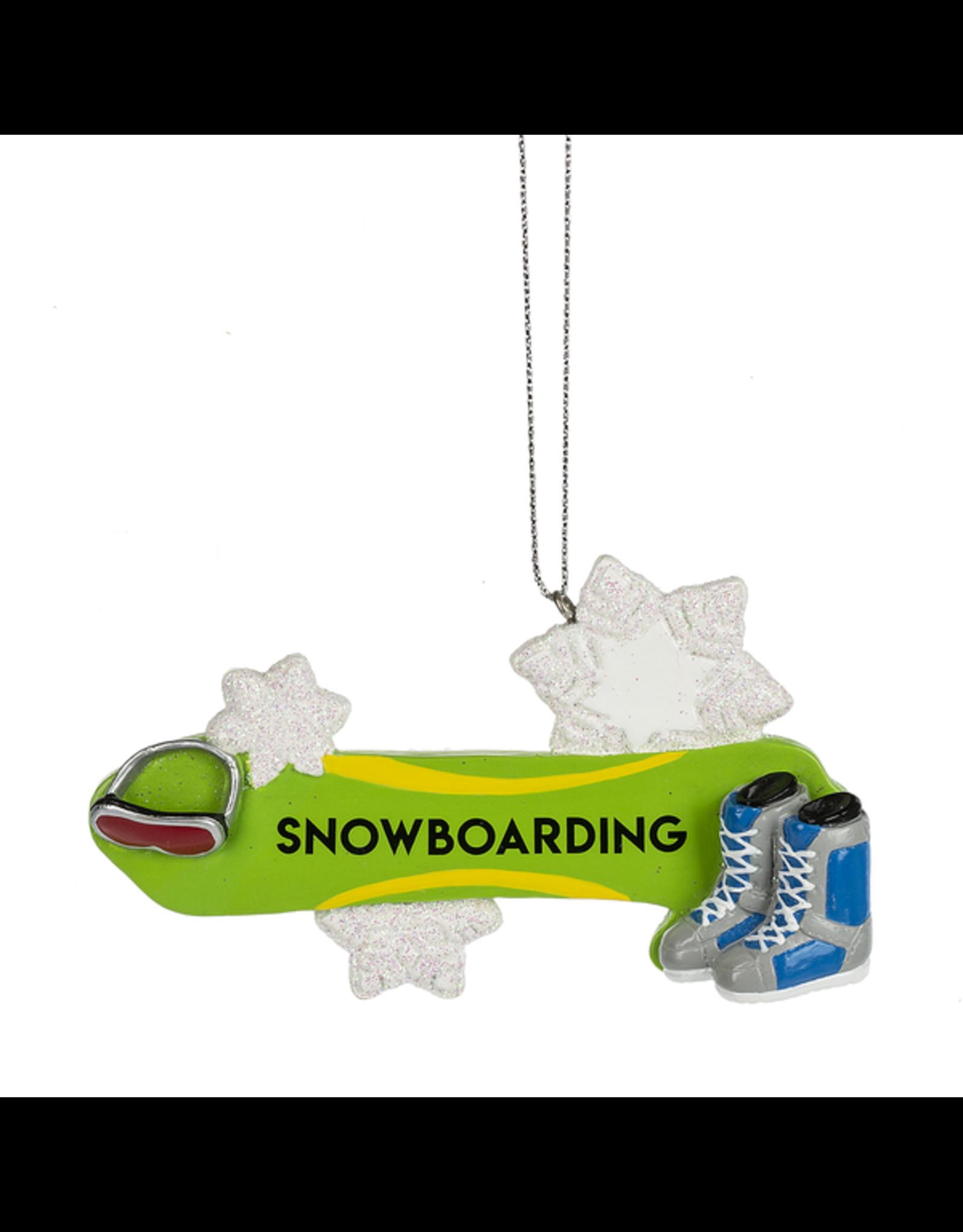 Ganz SNOWBOARDING ORNAMENT