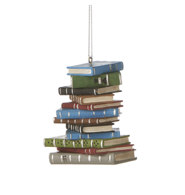 Ganz PILE OF BOOKS ORNAMENT