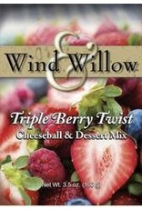 Wind and Willow SWEET CHEESEBALL TRIPLE BERRY TWIST