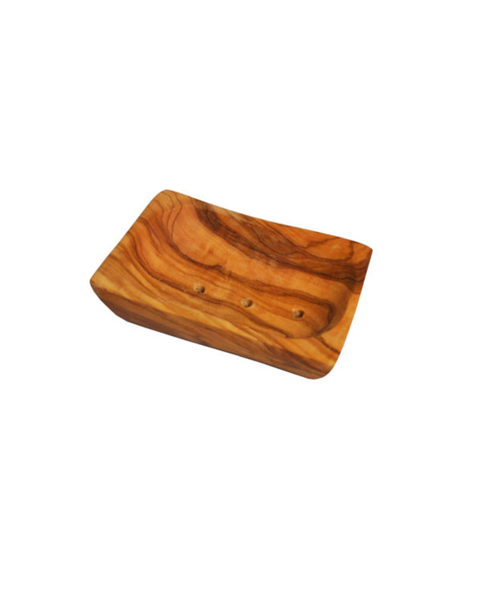 Naturally Med OLIVE WOOD SOAP DISH