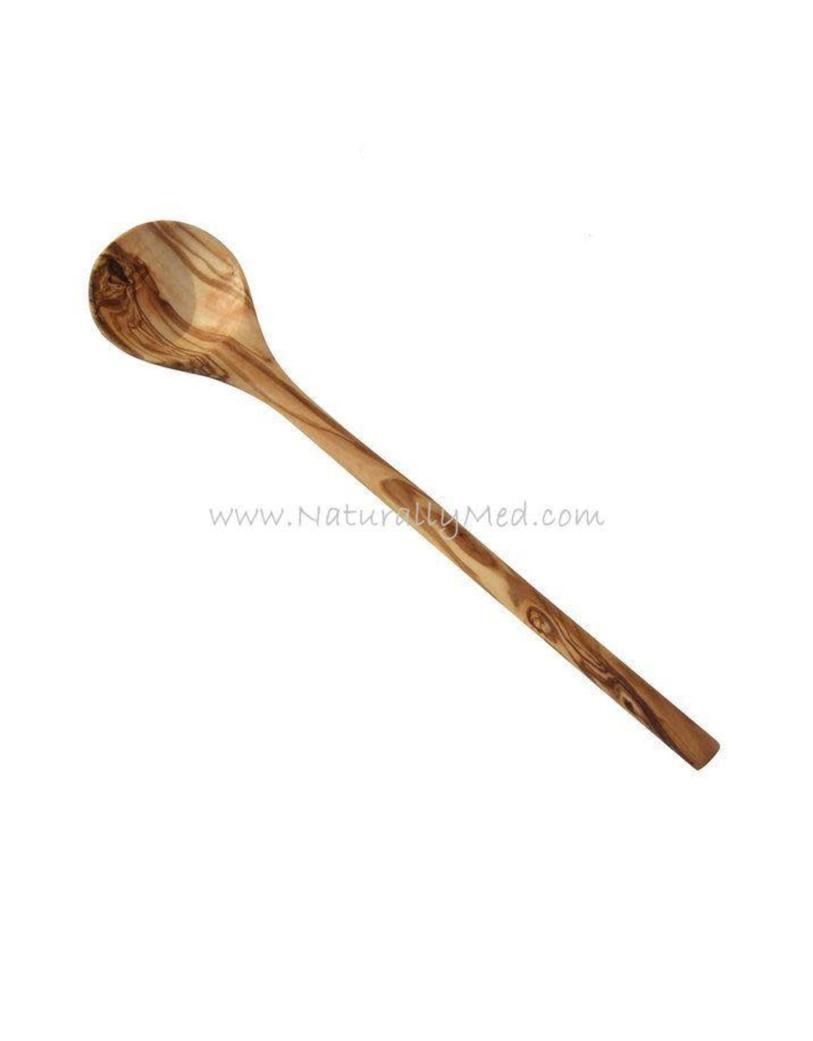 Naturally Med OLIVE WOOD ROUND SPOON