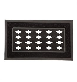 Evergreen BLACK SCROLL SASSAFRAS MAT TRAY