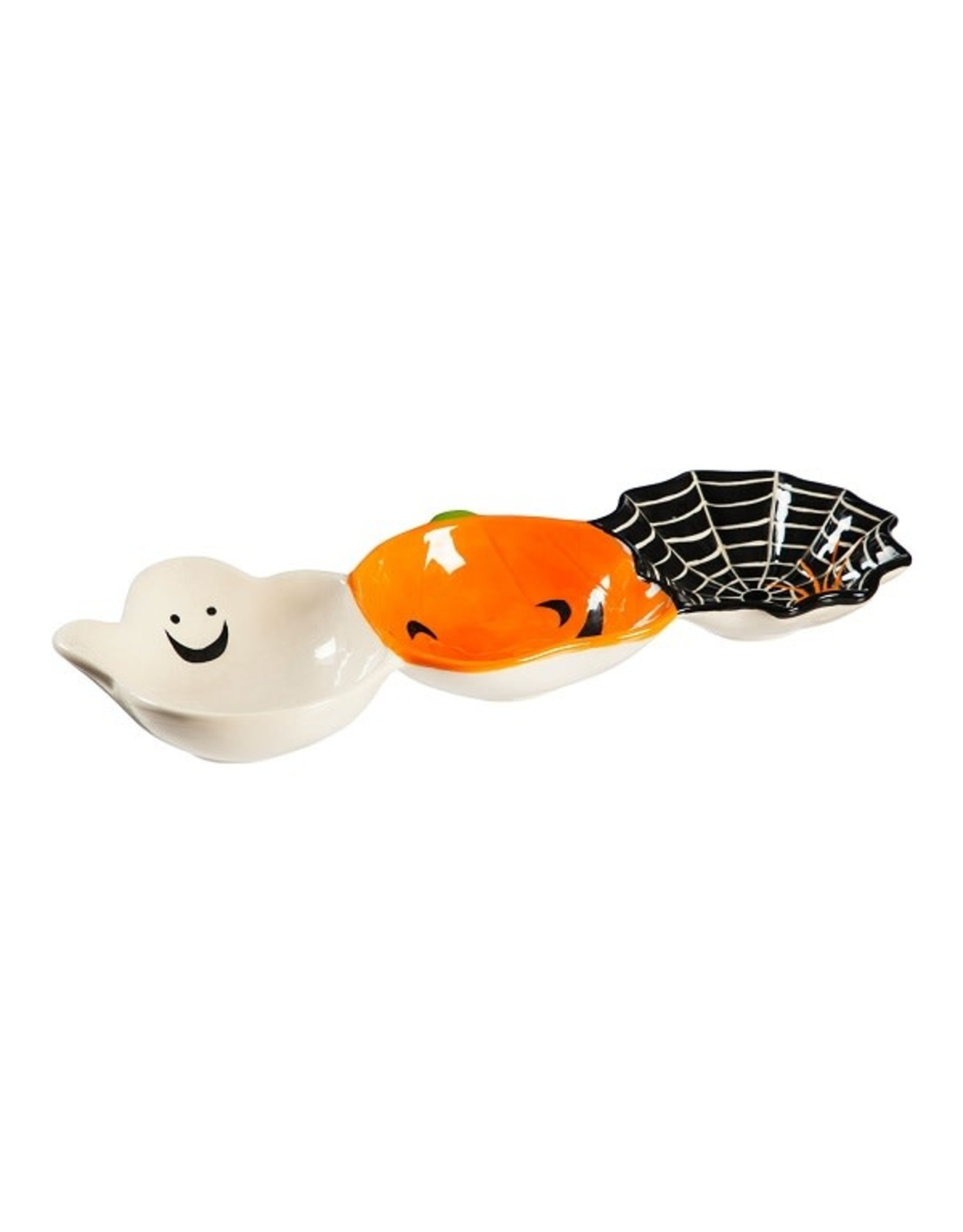 Evergreen CERAMIC HALLOWEEN BOWL TRIO