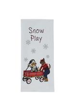 Park Designs SNOW PLAY KITCHEN TOWEL