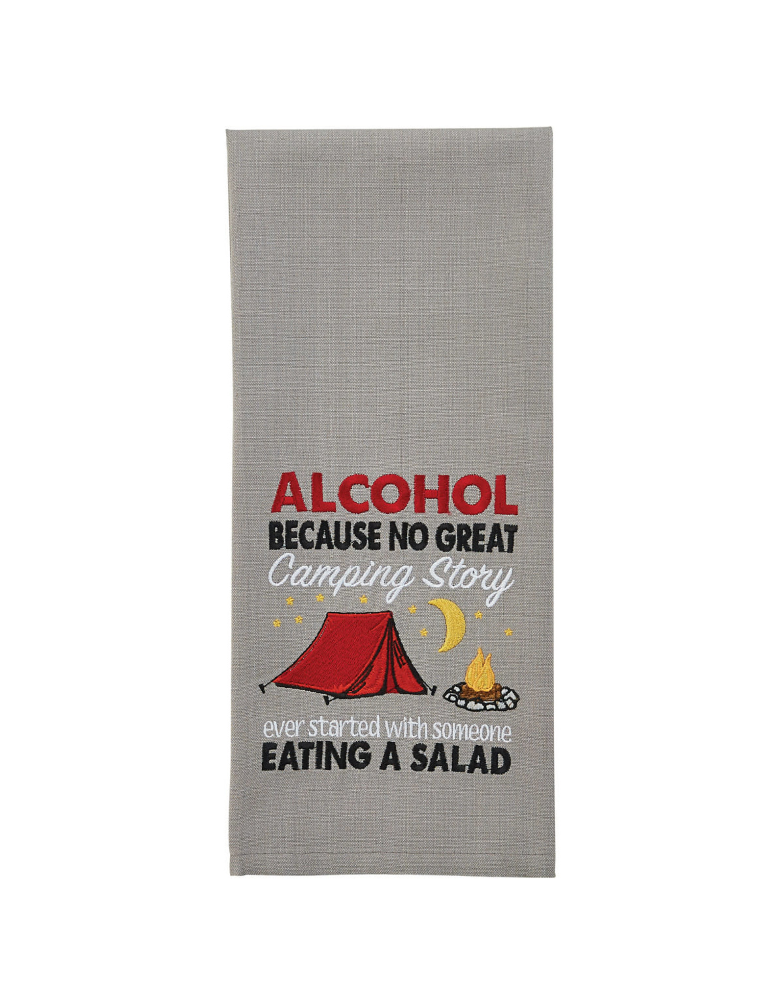 Park Designs NO GREAT CAMPING STORY KITCHEN TOWEL